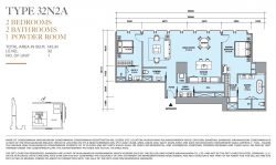 Ritz-Carlton-Mahanakhon-2br-unit-plan